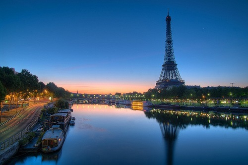Romantic European City Paris France 2014