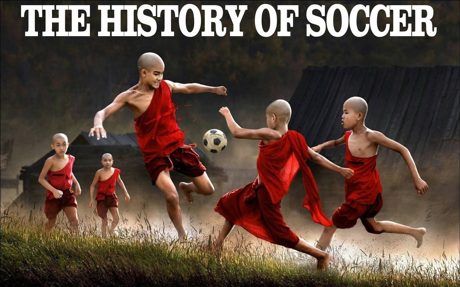 history of football soccer: