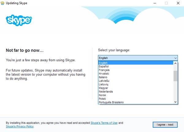 Install Skype - step 6