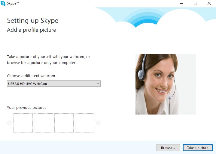 Setting up Skype - 3
