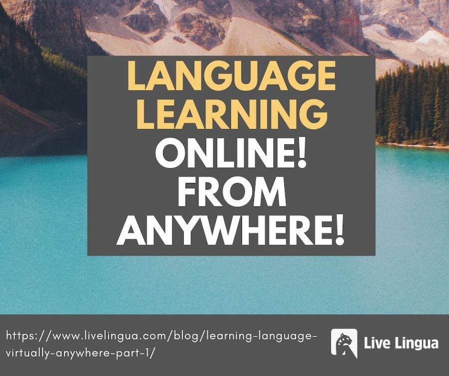 language learning online from anywhere