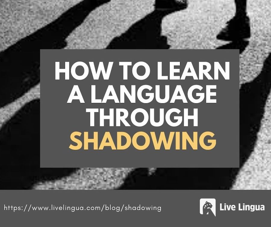 language learning shadowing
