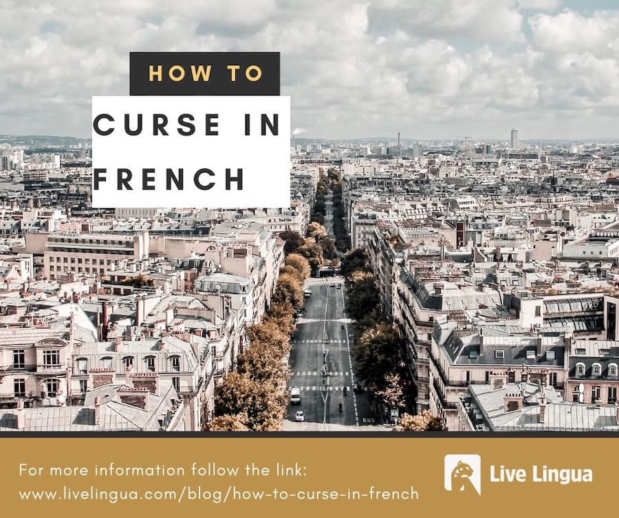 how to curse in french