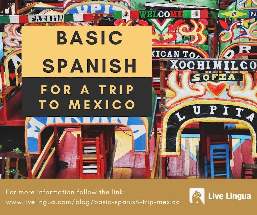 basic spanish for a trip to mexico