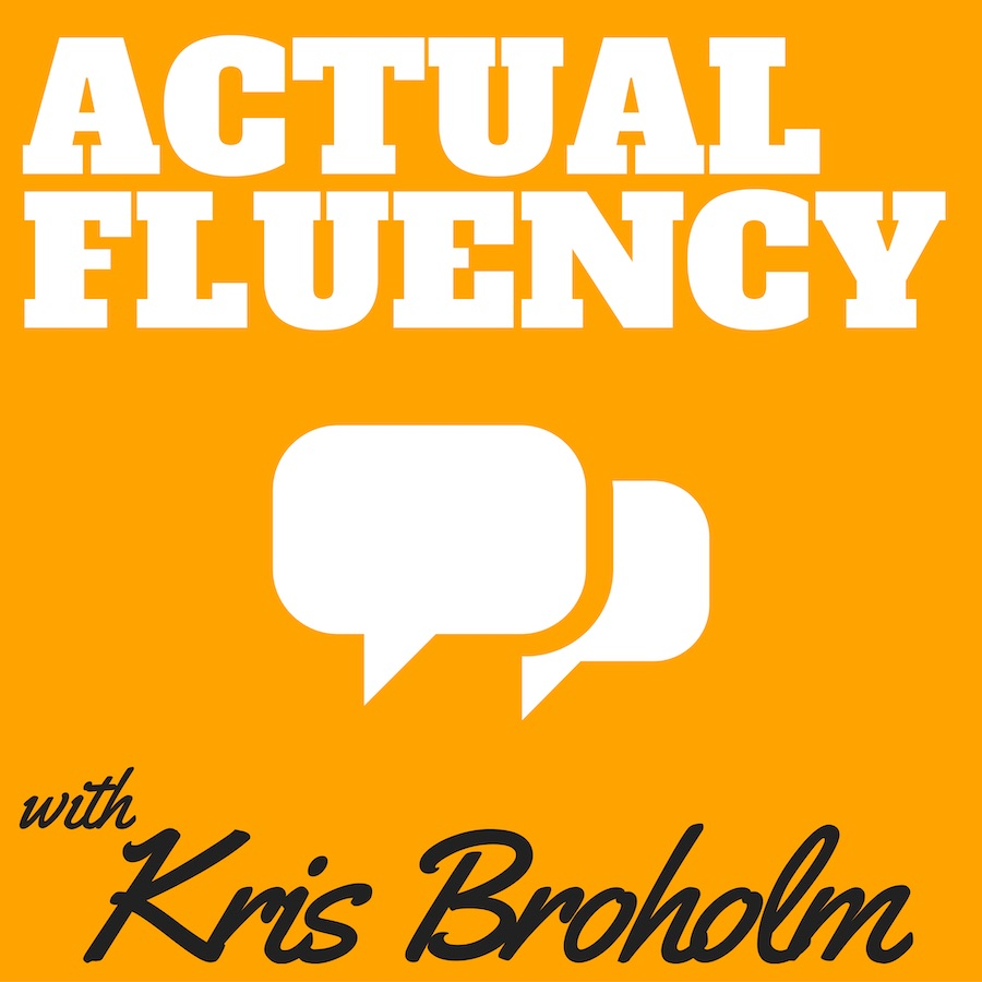actual fluency podcast