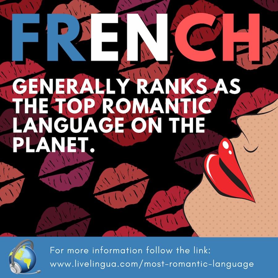 most romantic language