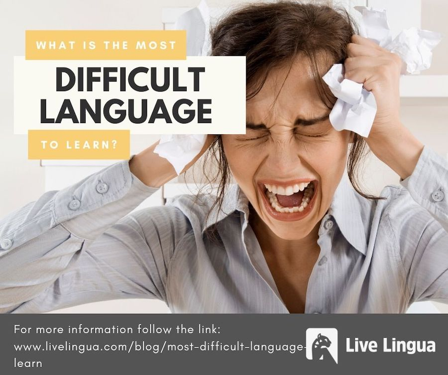most difficult language to learn