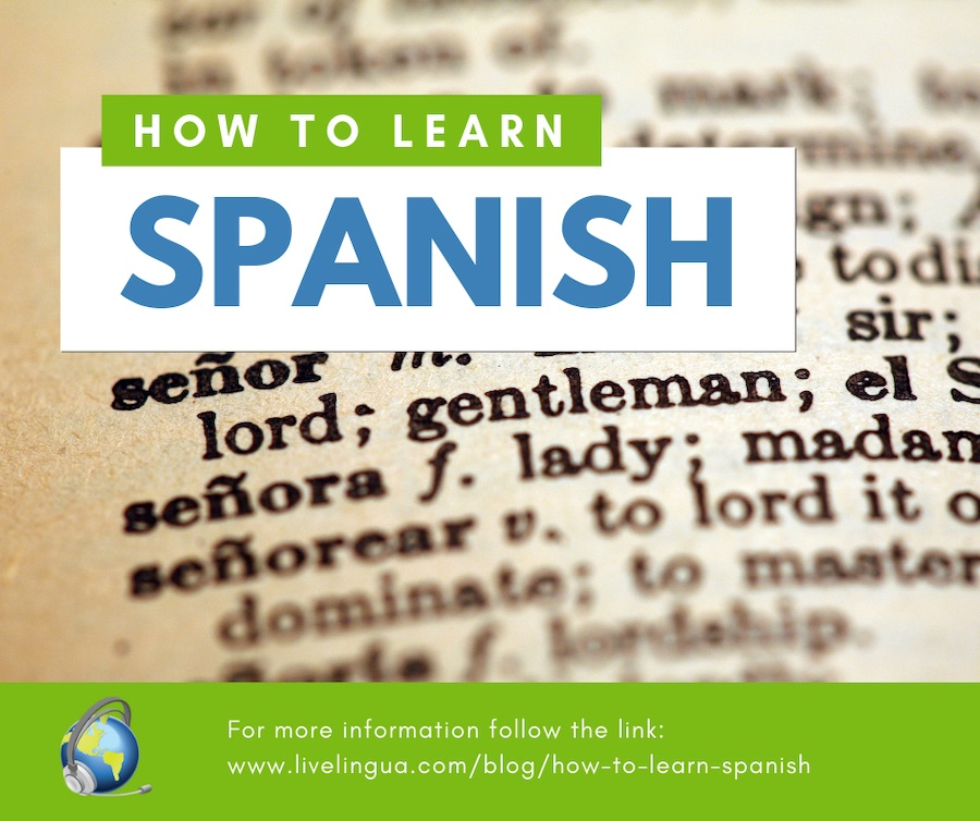 how to speak spanish