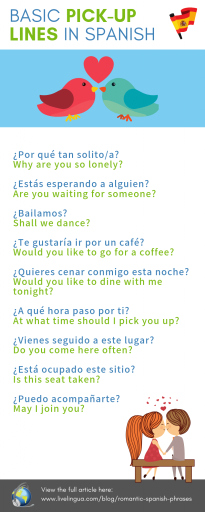 Spanish pick-up lines