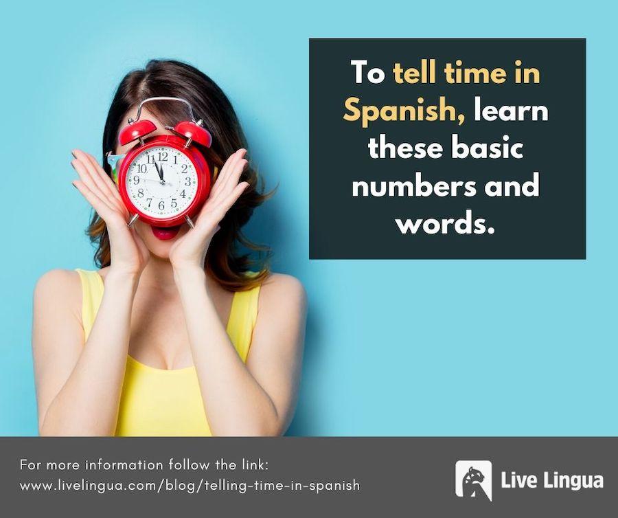 time in spanish
