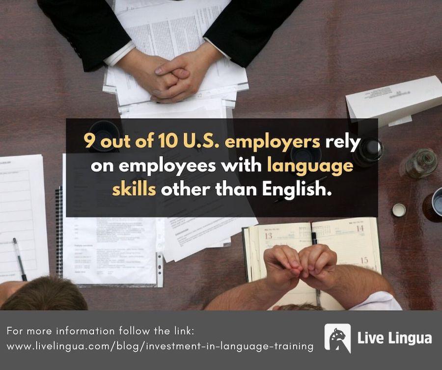 employee language training