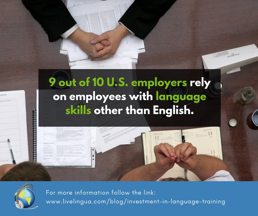 language training for employees