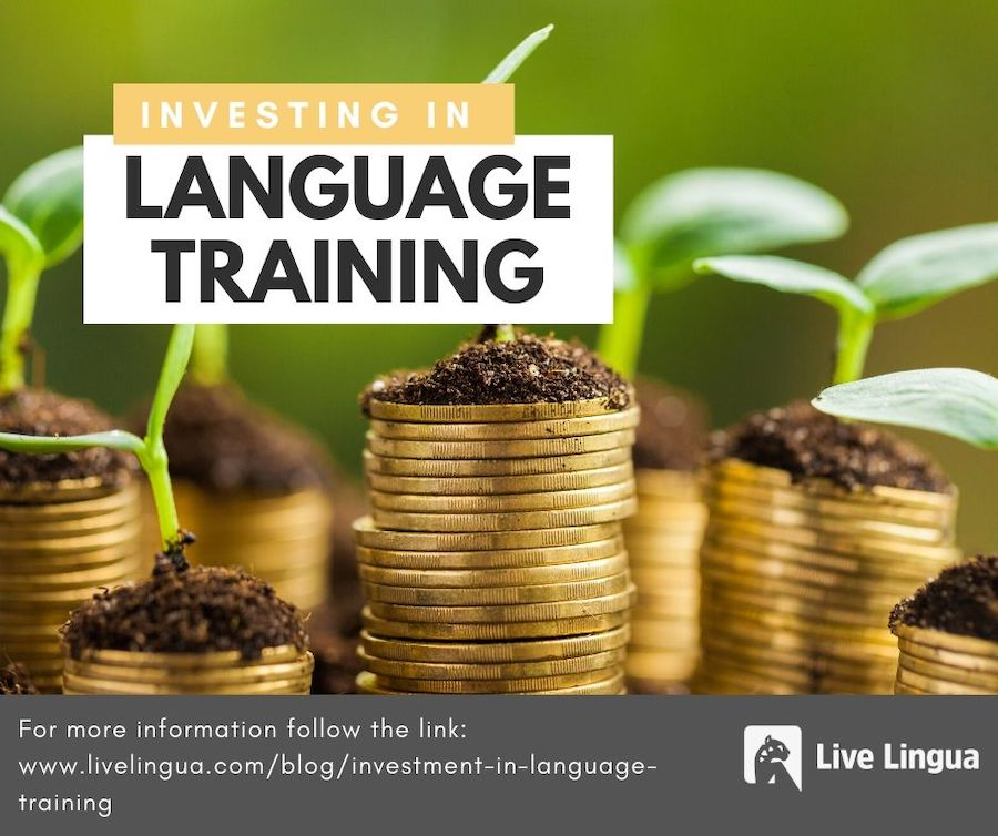 why businesses should invest in language training