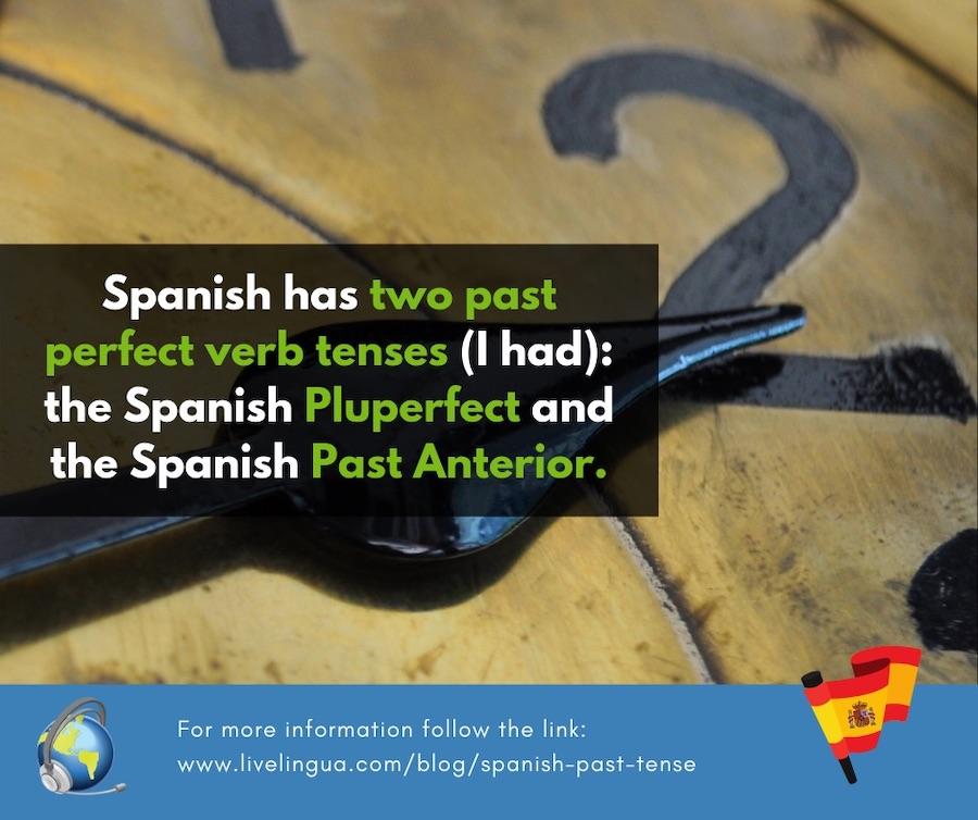 spanish past anterior