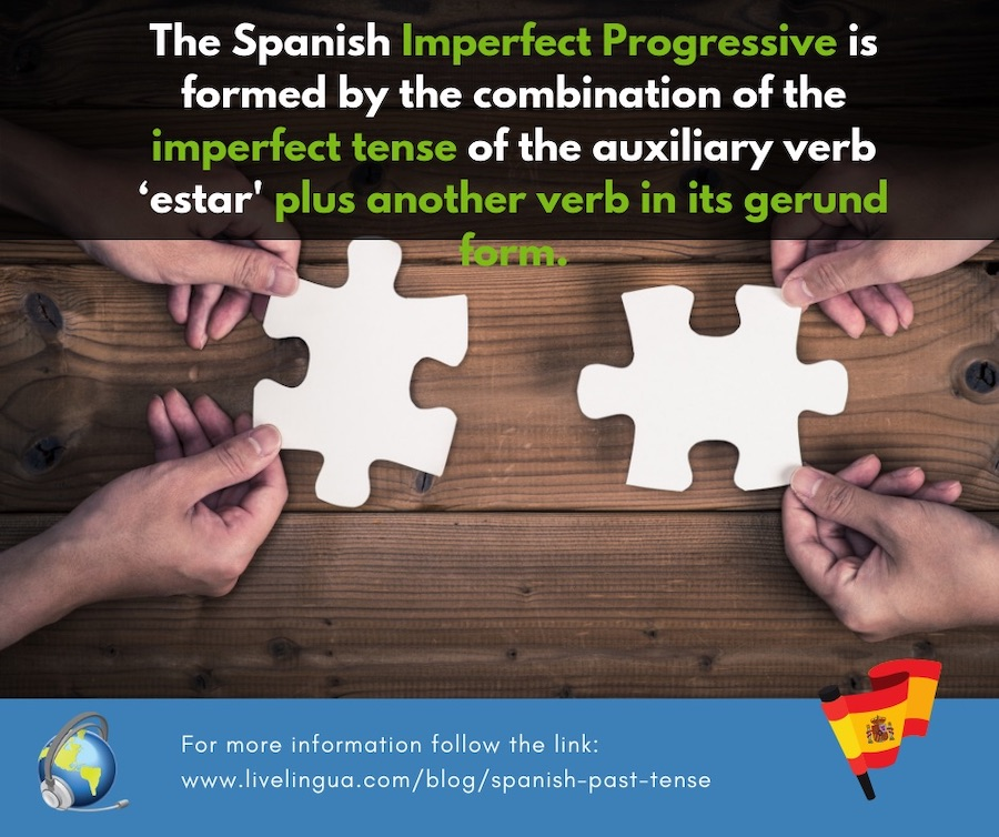 imperfect progressive spanish