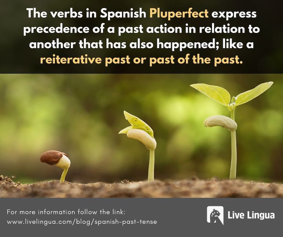 spanish past tense pluperfect