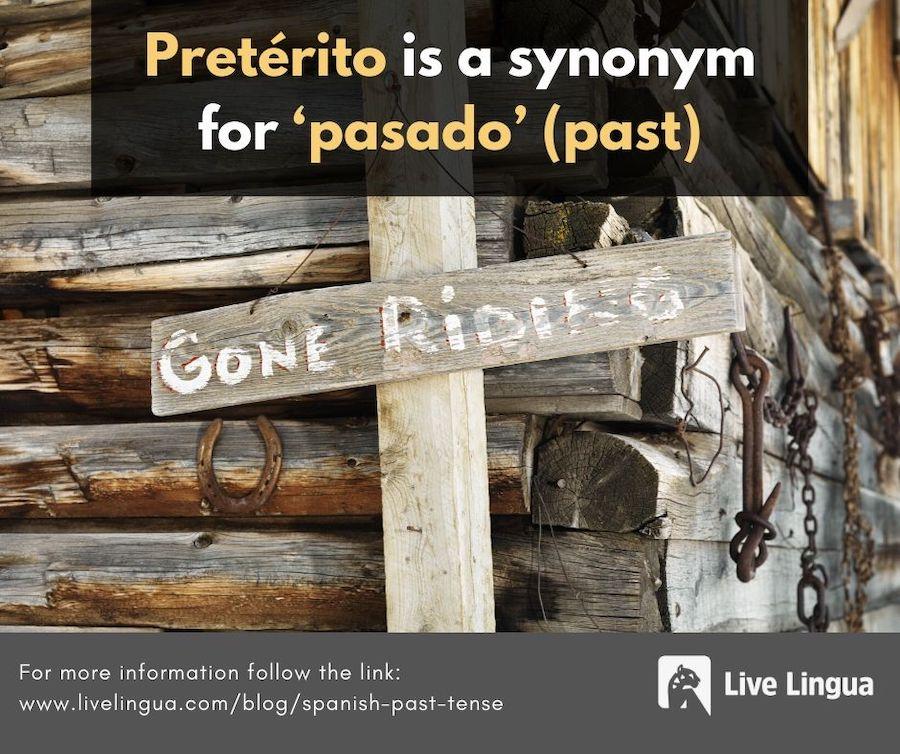 spanish past tense preterite