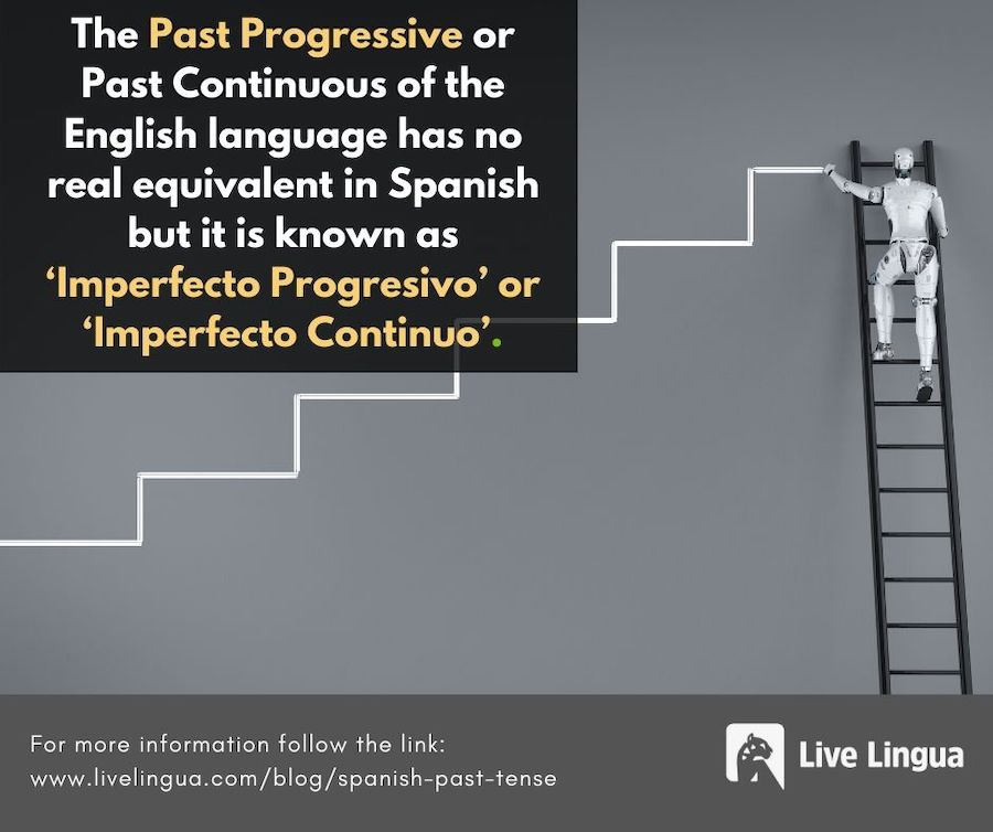 spanish past progressive