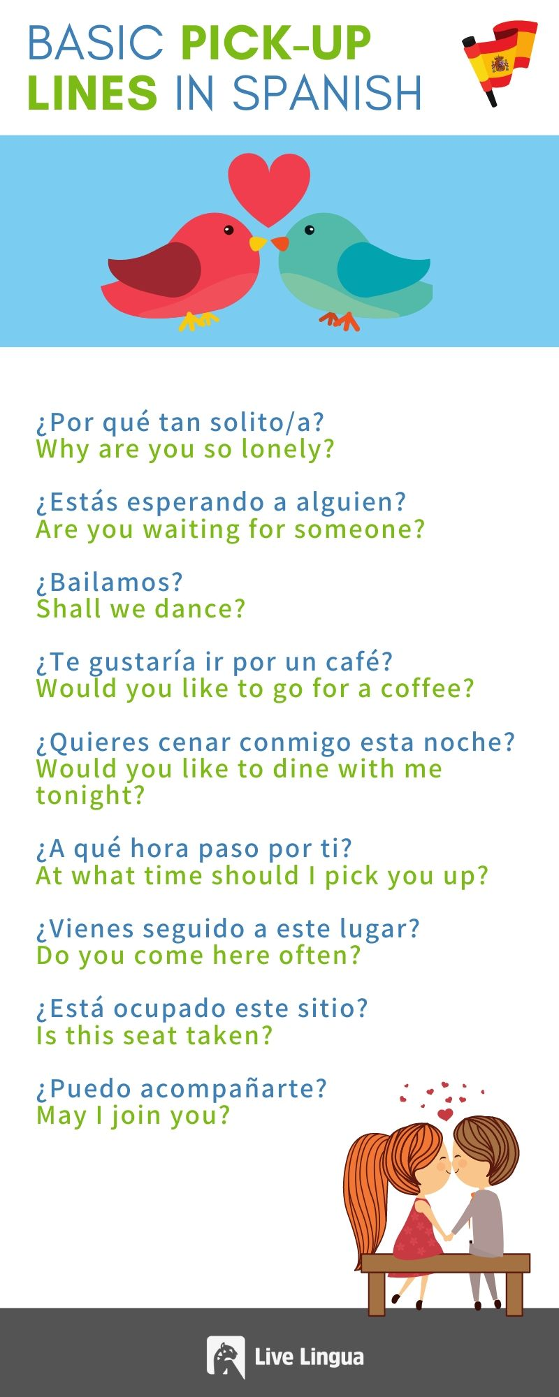 spanish pick up lines