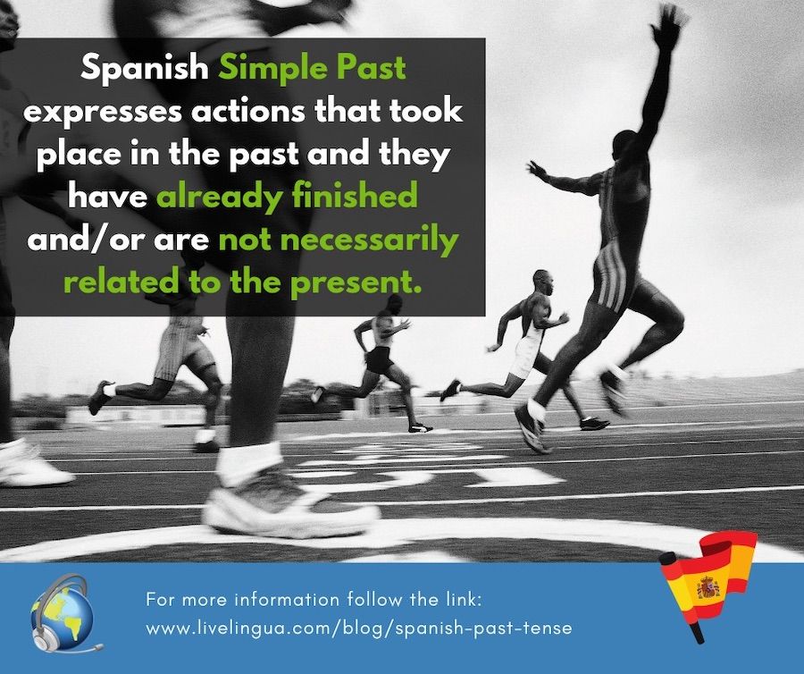 spanish simple past