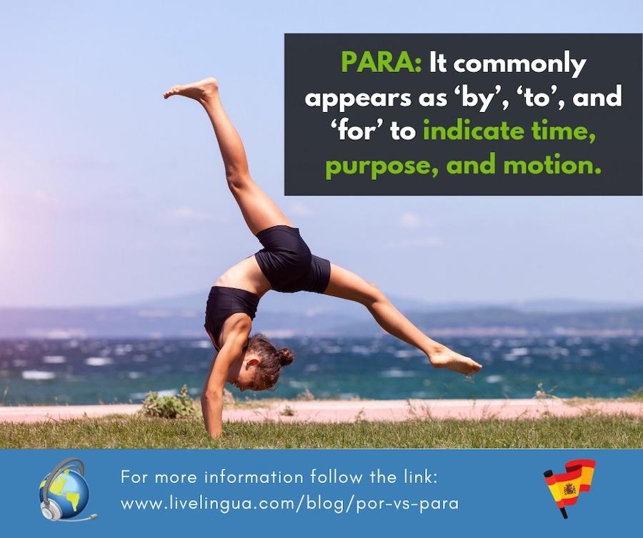 spanish word para