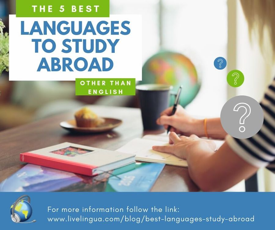 best languages to study abroad