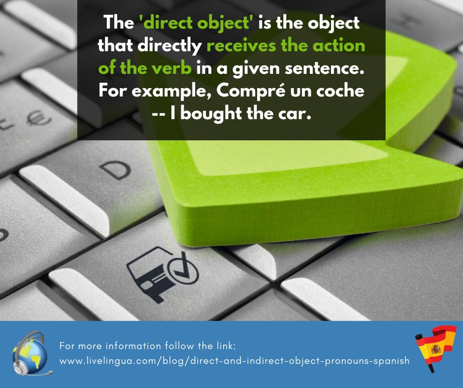 direct object pronouns spanish