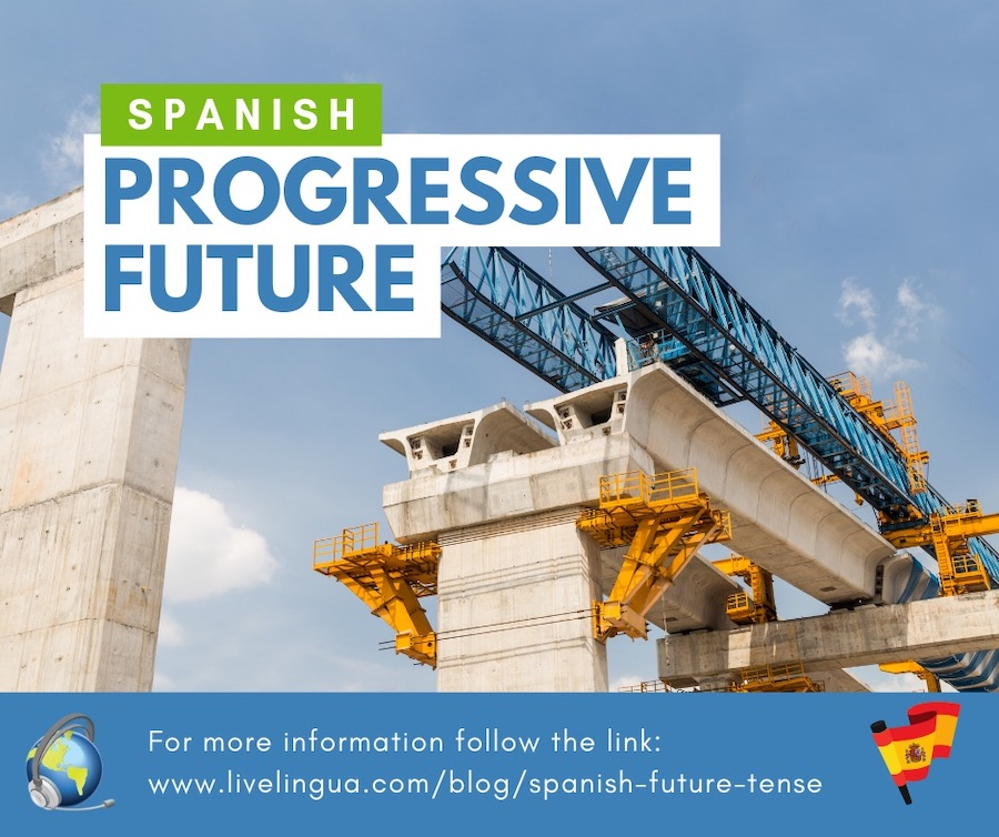 spanish future progressive