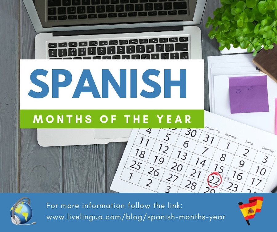 spanish months of the year