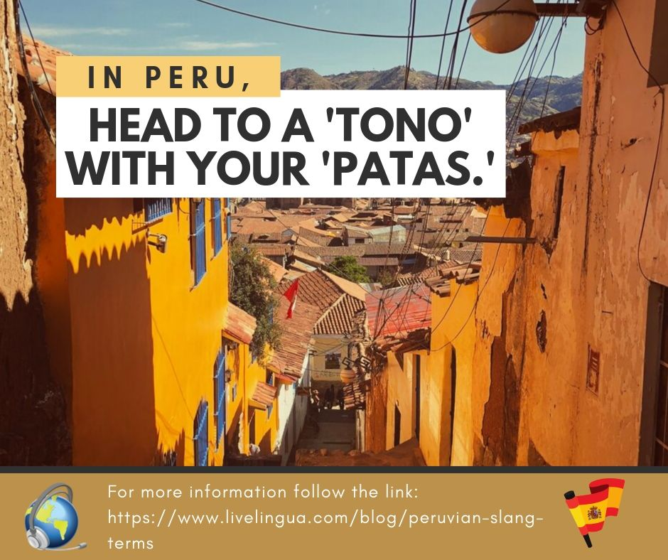 peruvian slang terms