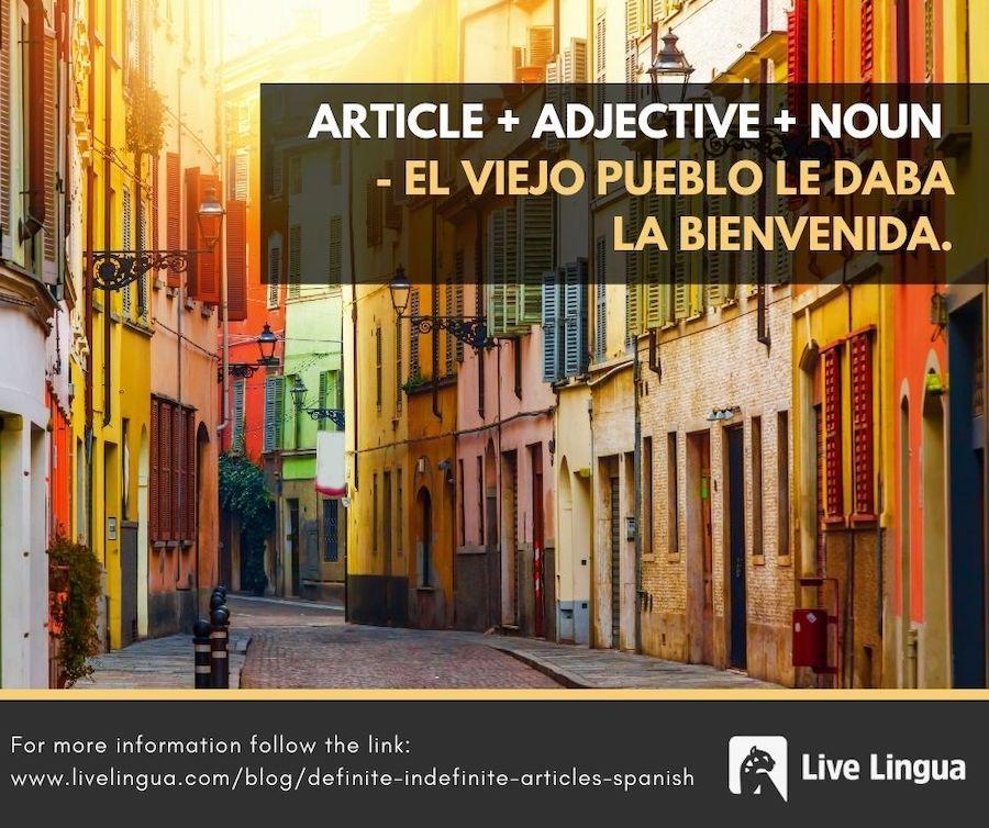 definite indefinite articles spanish