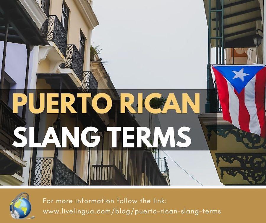 puerto rican slang terms