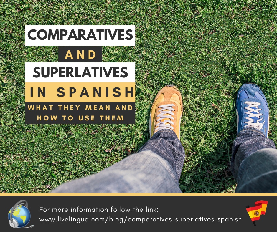 comparatives in spanish