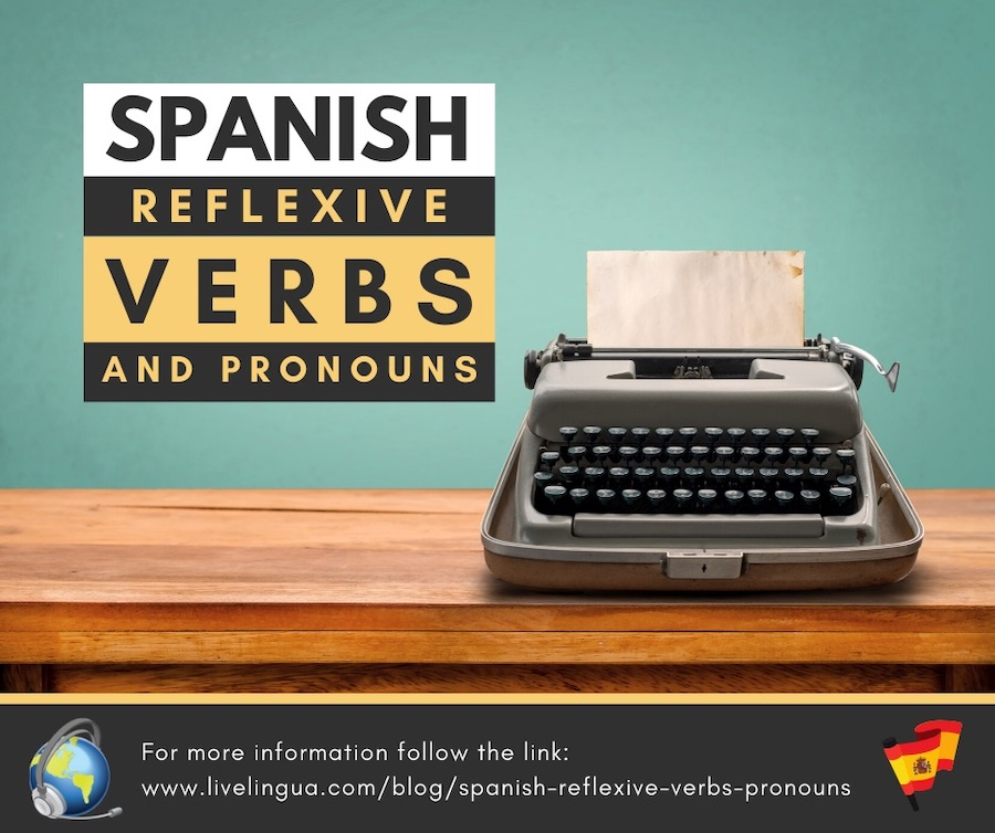 spanish reflexive verbs and pronouns