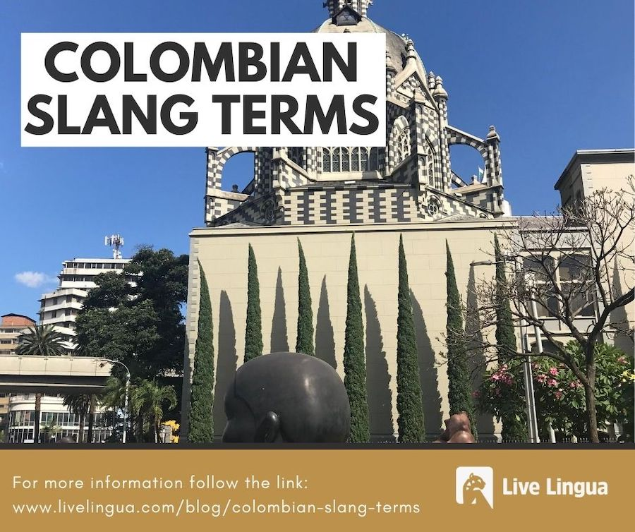 colombian slang terms