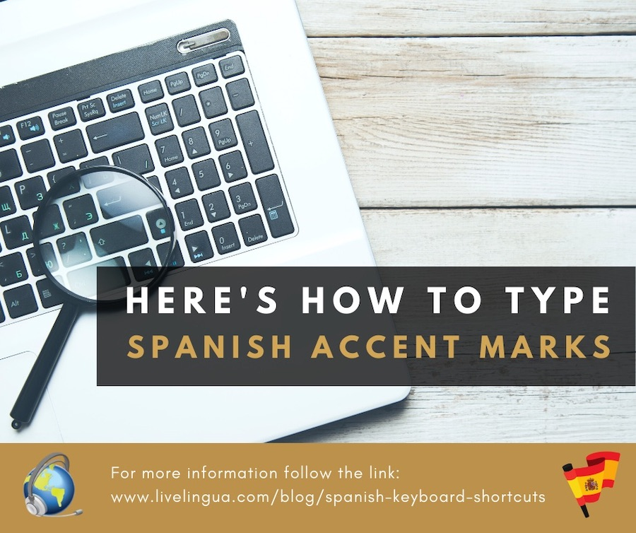 how to type spanish accent marks