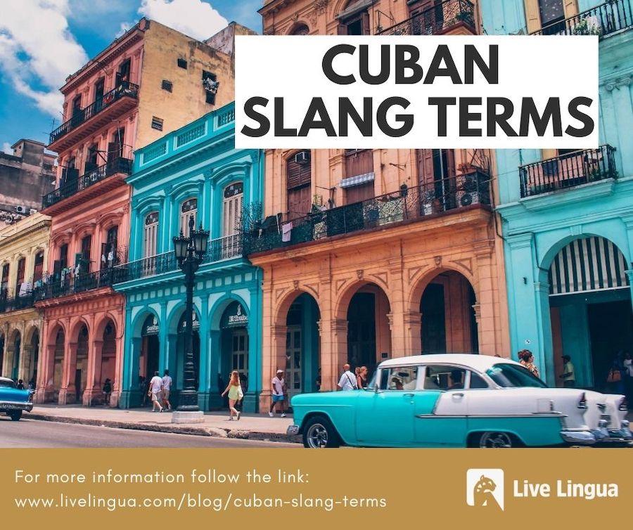 cuban slang terms