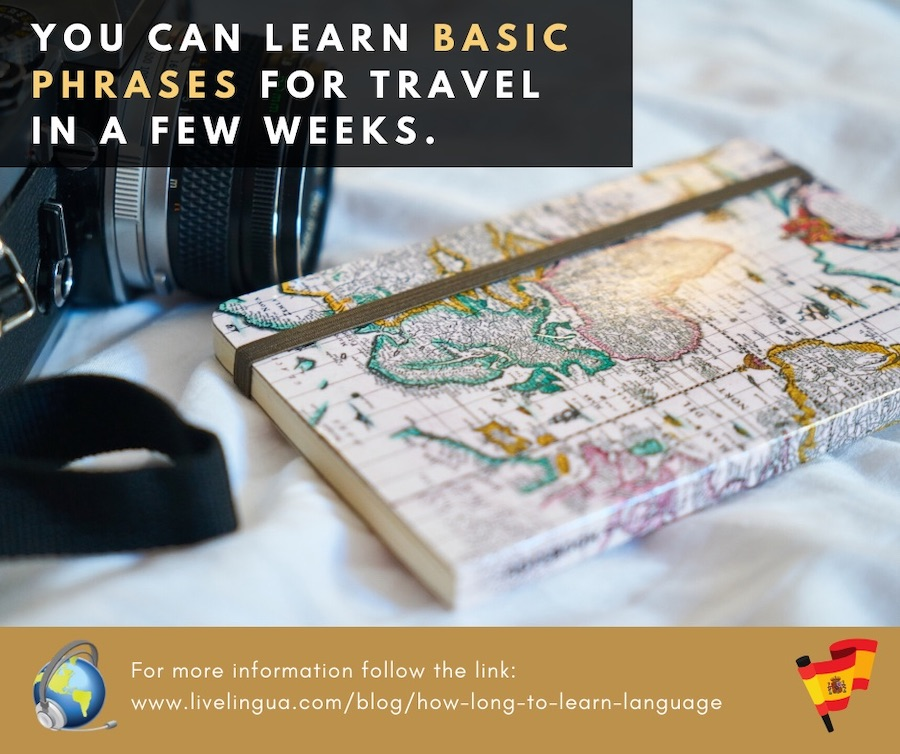 How long to learn a language?