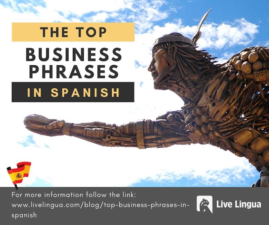 top business phrases in spanish