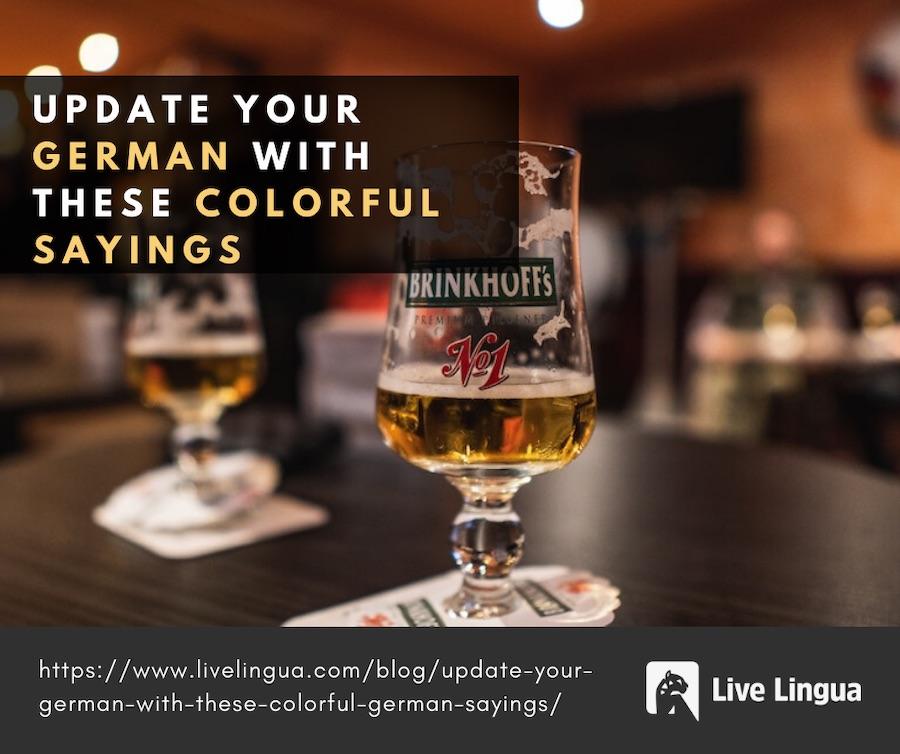 colorful german sayings