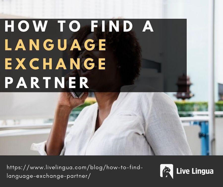 language exchange partner