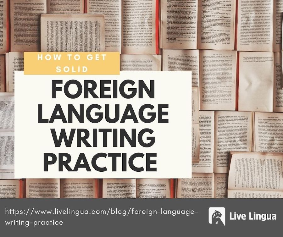 foreign language writing practice