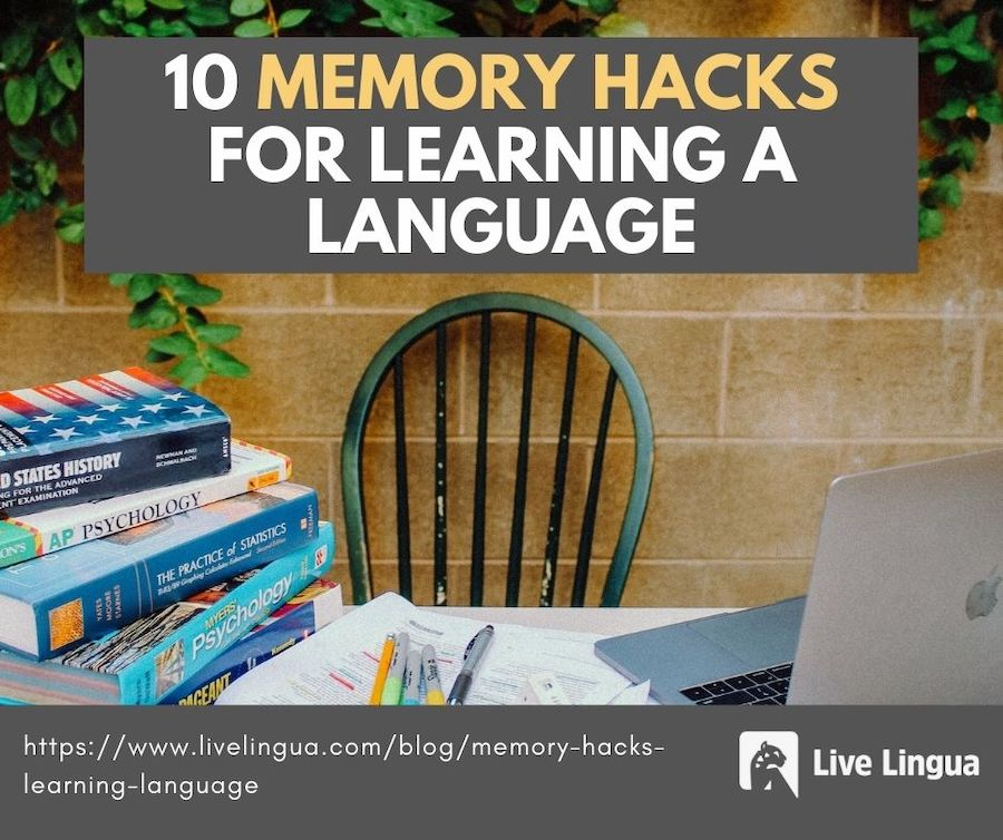 memory hacks for learning a language