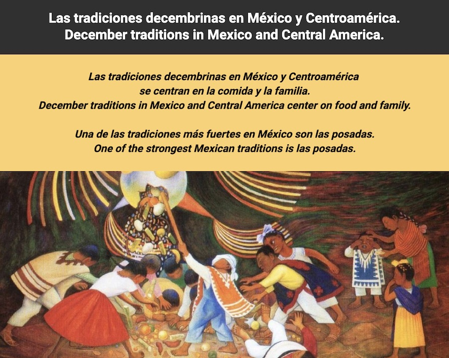 december traditions in latin america