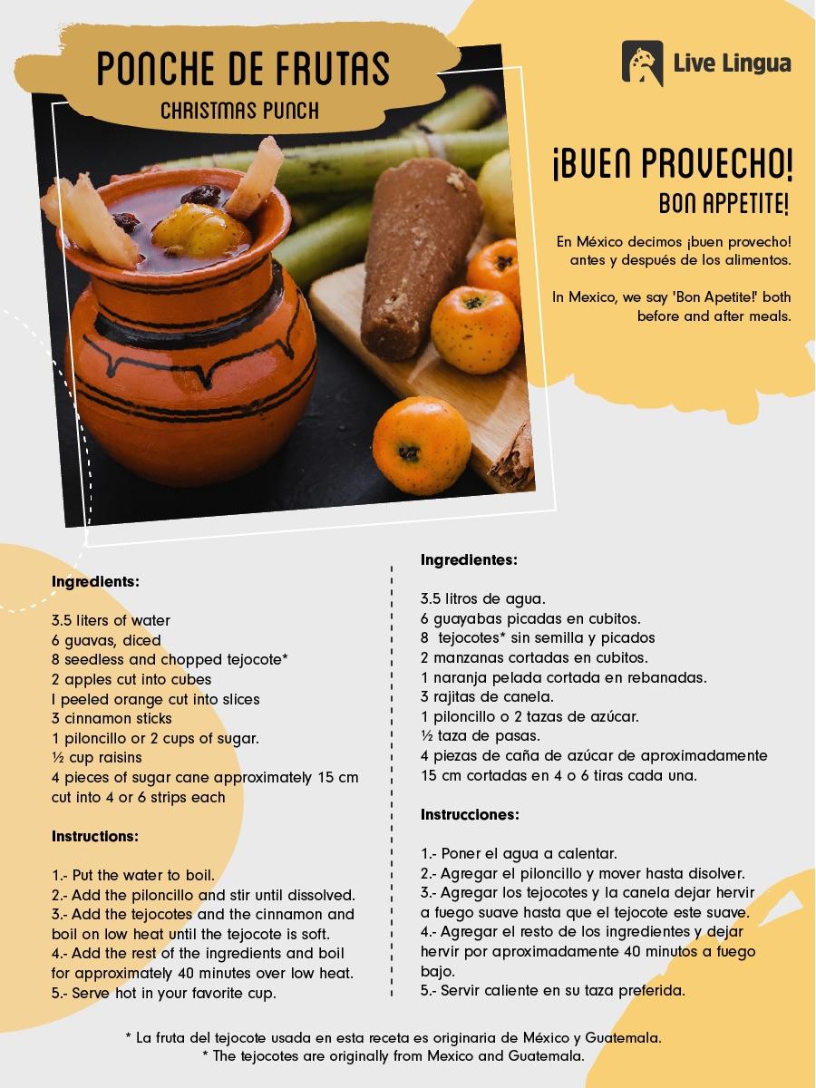 ponche recipe