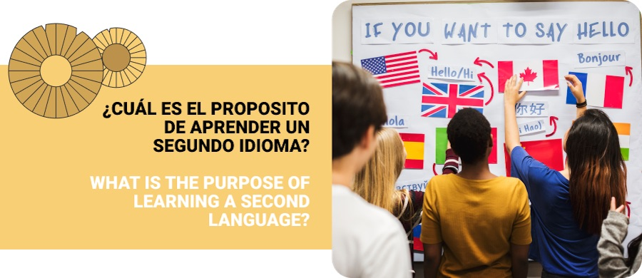 purpose of learning a second language