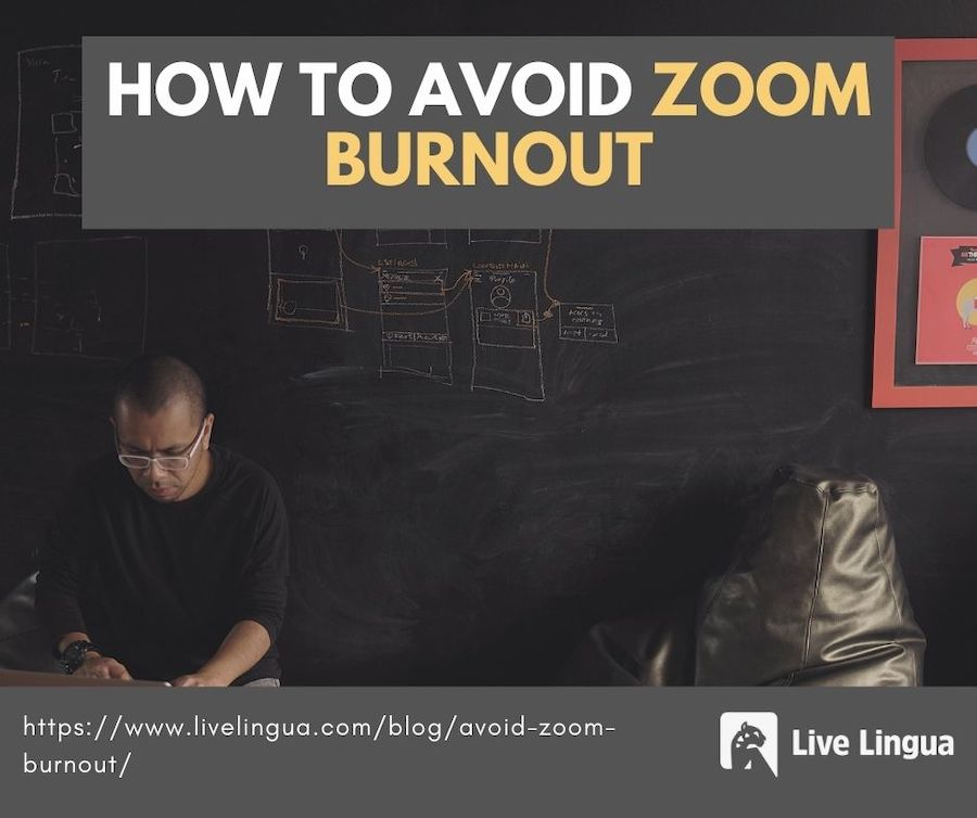 how to avoid zoom burnout