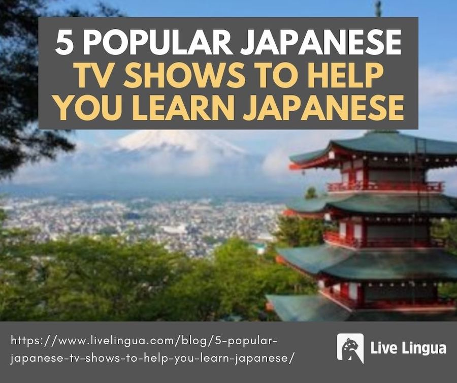 japanese learning tv shows