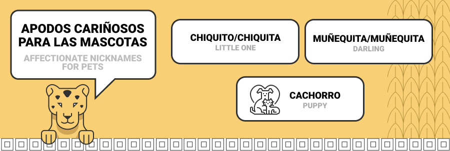 nicknames for pets in spanish
