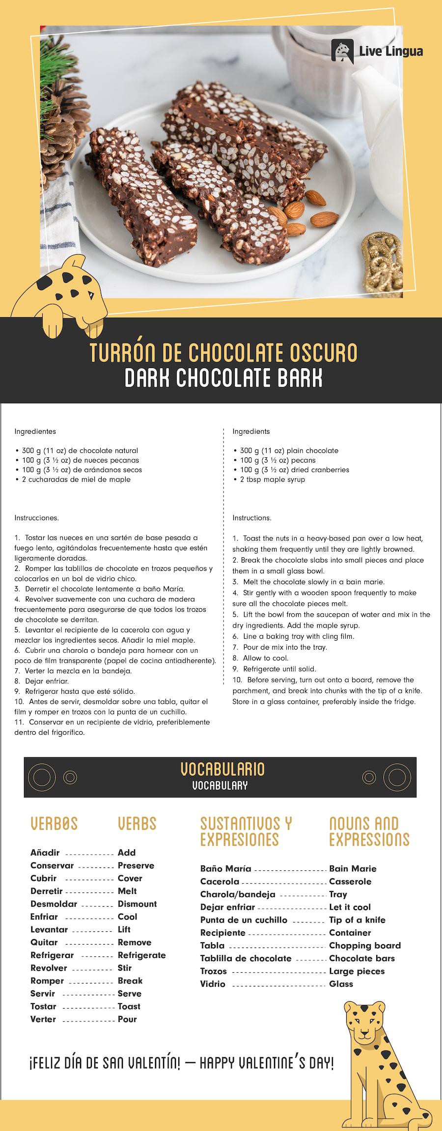 turron de chocolate recipe
